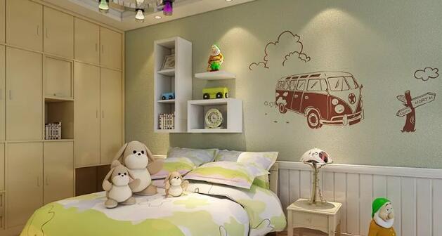 儿童房墙面涂料很关键,一步都不能马虎!